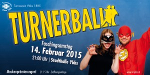 Turnerball-2015- Flyer-Vorderseite